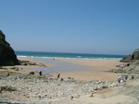 Chapel Porth Beach